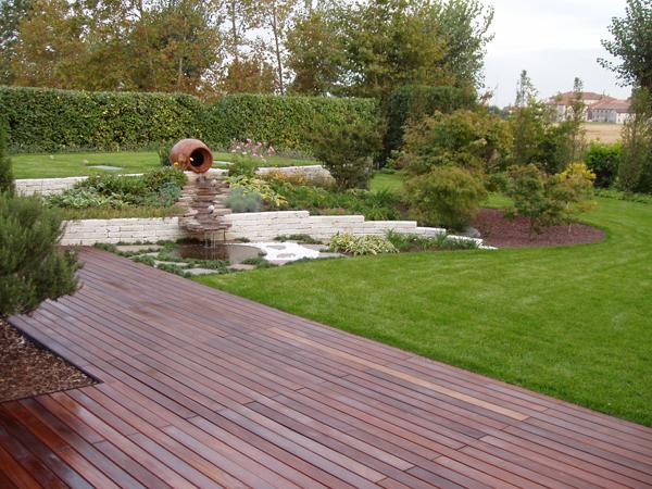 Pavimentazione da giardino a secco design casa creativa - Design giardini esterni ...
